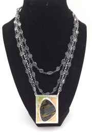 LJ Jewelry Designs Pietersite Necklace - Product Mini Image