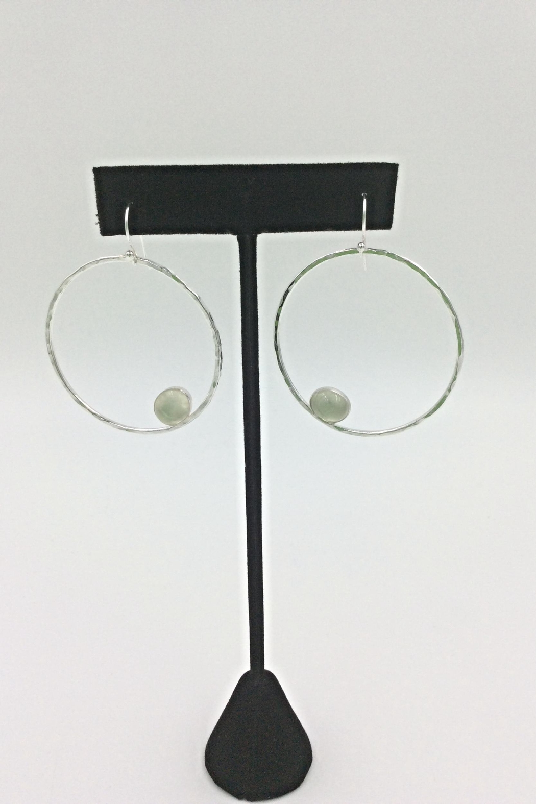 LJ Jewelry Designs Prehnite Earrings - Main Image