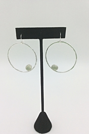 LJ Jewelry Designs Prehnite Earrings - Front cropped