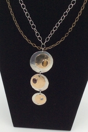 LJ Jewelry Designs Triple Disc Necklace - Product Mini Image