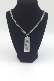 LJ Jewelry Designs Triple Opal Necklace - Product Mini Image