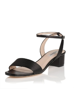 Shoptiques Product: Charline Black Leather Sandal