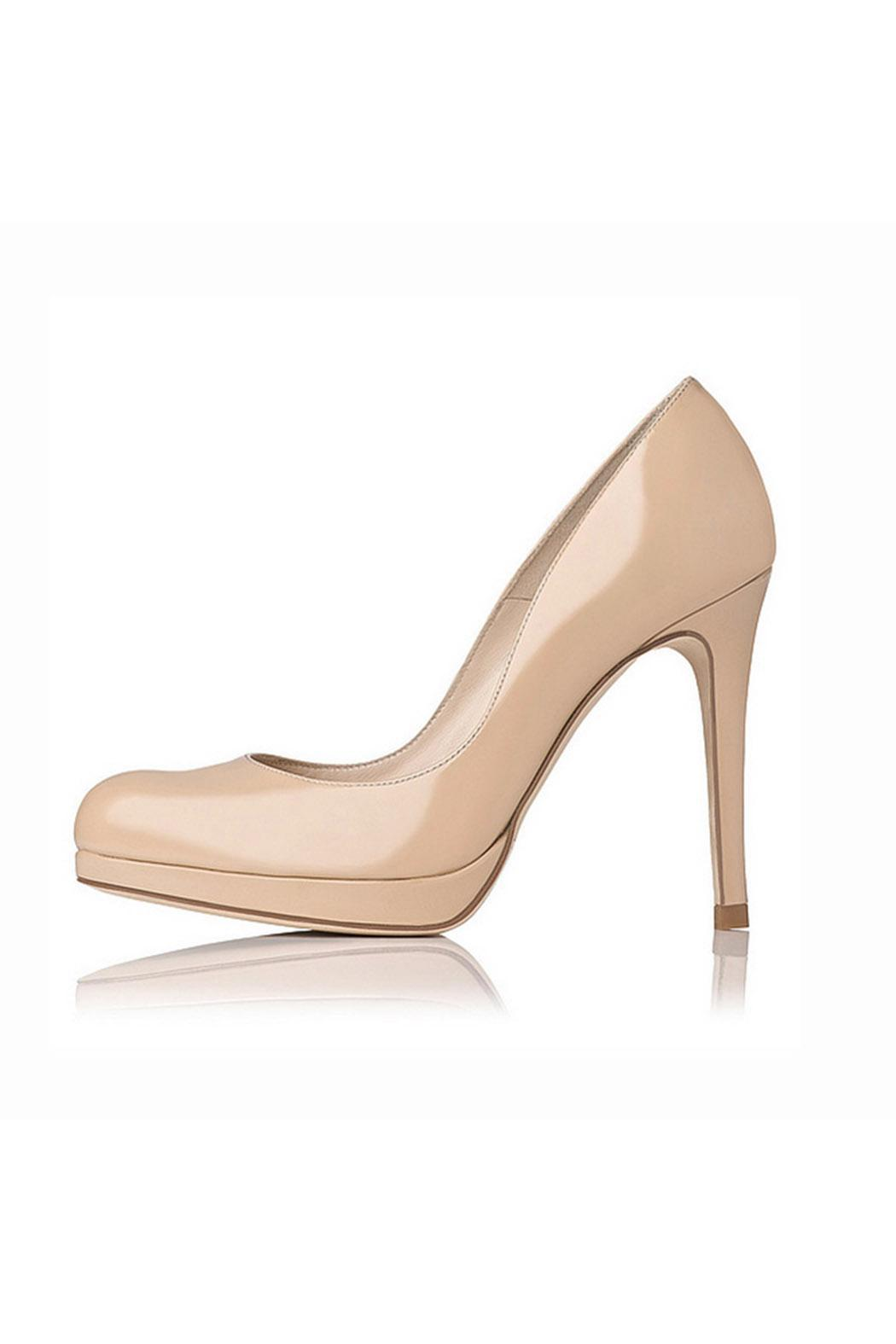 a663ab8d052 LK BENNETT Sledge Heel Taupe from Alexandria by Bishop Boutique ...