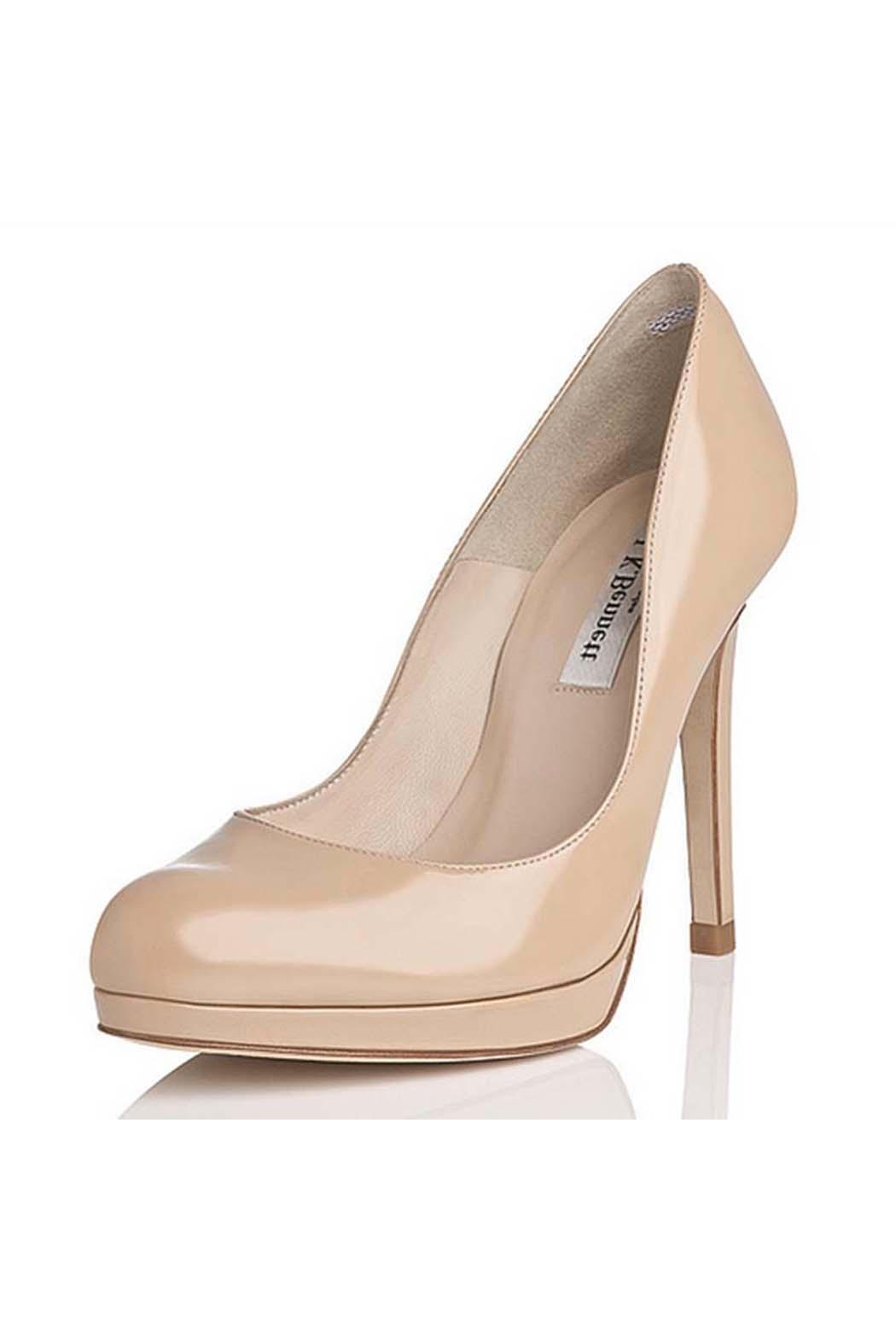 8252fc39639 LK BENNETT Sledge Heel Taupe from Alexandria by Bishop Boutique ...