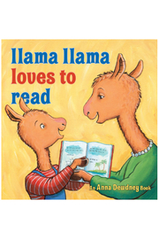 Penguin Books Llama Llama Loves To Read - Front cropped
