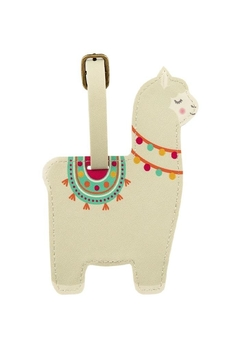 Sass & Belle Llama Luggage Tag - Alternate List Image