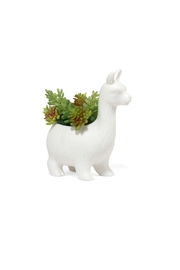 Kikkerland Design Llama Planter - Product Mini Image