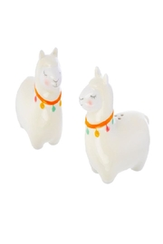 Sass & Belle Llama Salt+pepper Shaker - Front cropped