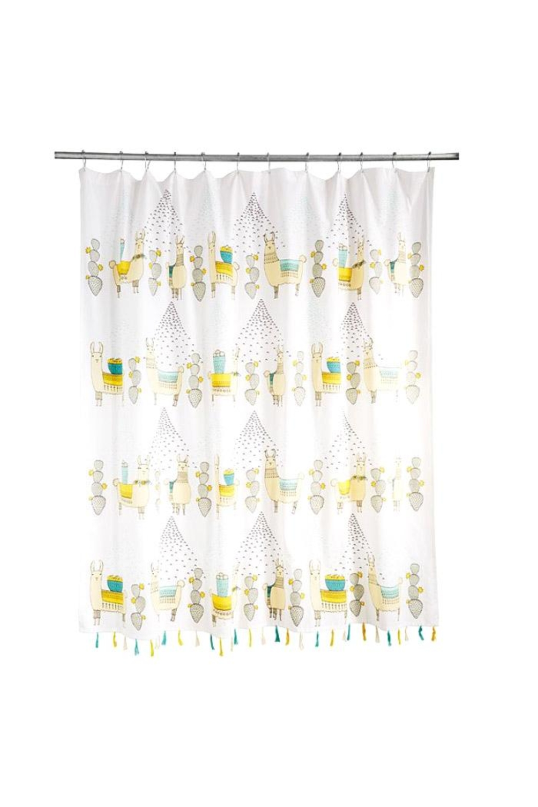 Danica Studio Llama Shower Curtain