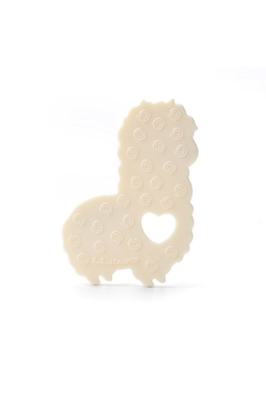 loulou LOLLIPOP Llama Silicone Baby Teether Holder Set - Alternate List Image