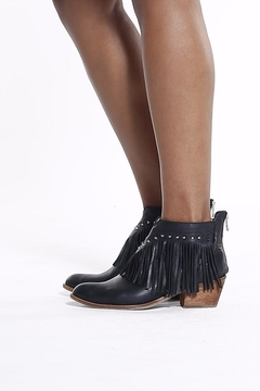Shoptiques Product: Boots With Fringes Booties