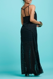 Llena eres de Gracia Y Back Long Dress - Front full body