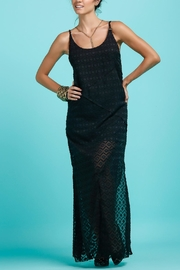 Llena eres de Gracia Y Back Long Dress - Front cropped