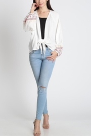 LLove Embroidered Duster - Product Mini Image