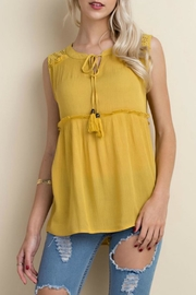 LLove USA Babydoll Top - Product Mini Image