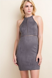 LLove USA Halter Bodycon Dress - Front cropped