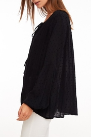 LLove USA Lace Trim Top - Side cropped