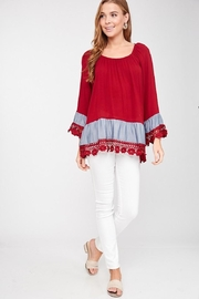 LLove USA Lady In Red Blouse - Other