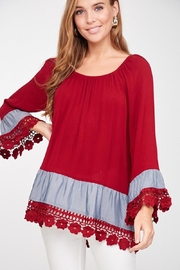 LLove USA Lady In Red Blouse - Product Mini Image