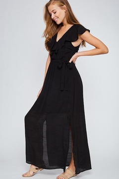 LLove USA Let's Go Black Maxi - Alternate List Image