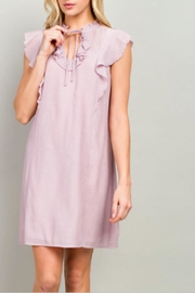 LLove USA Lola Lavender Dress - Product Mini Image