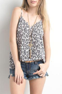 Shoptiques Product: Printed Scallop Tank
