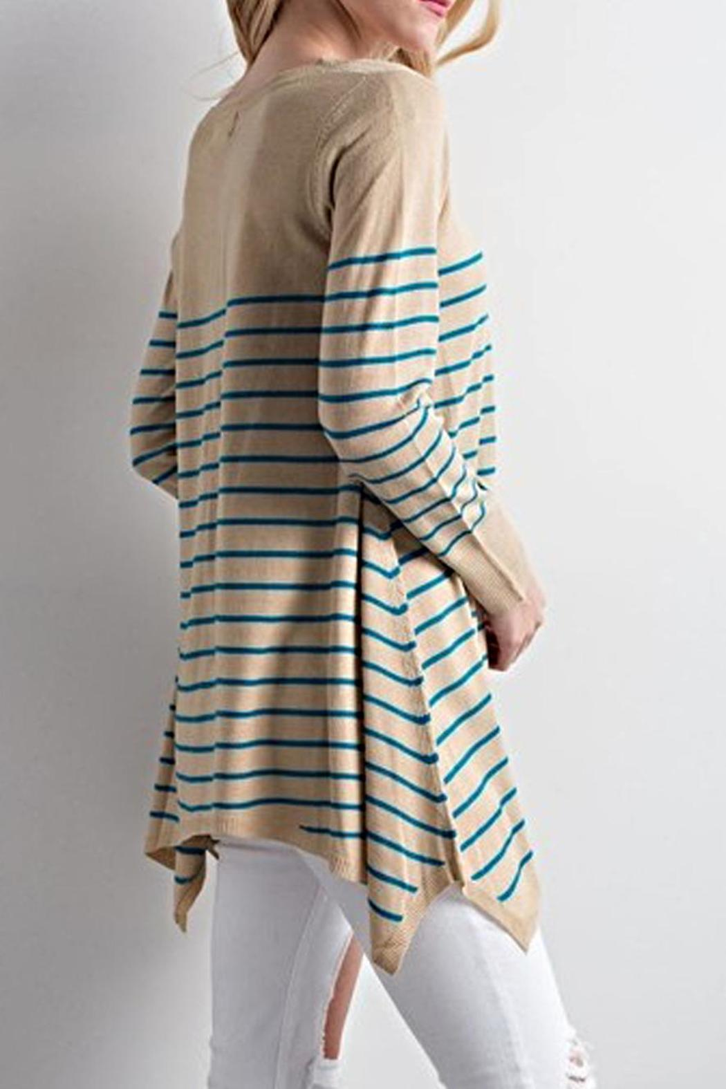 LLove USA Striped Tunic Sweater from Ohio by Artifacts Gallery ...