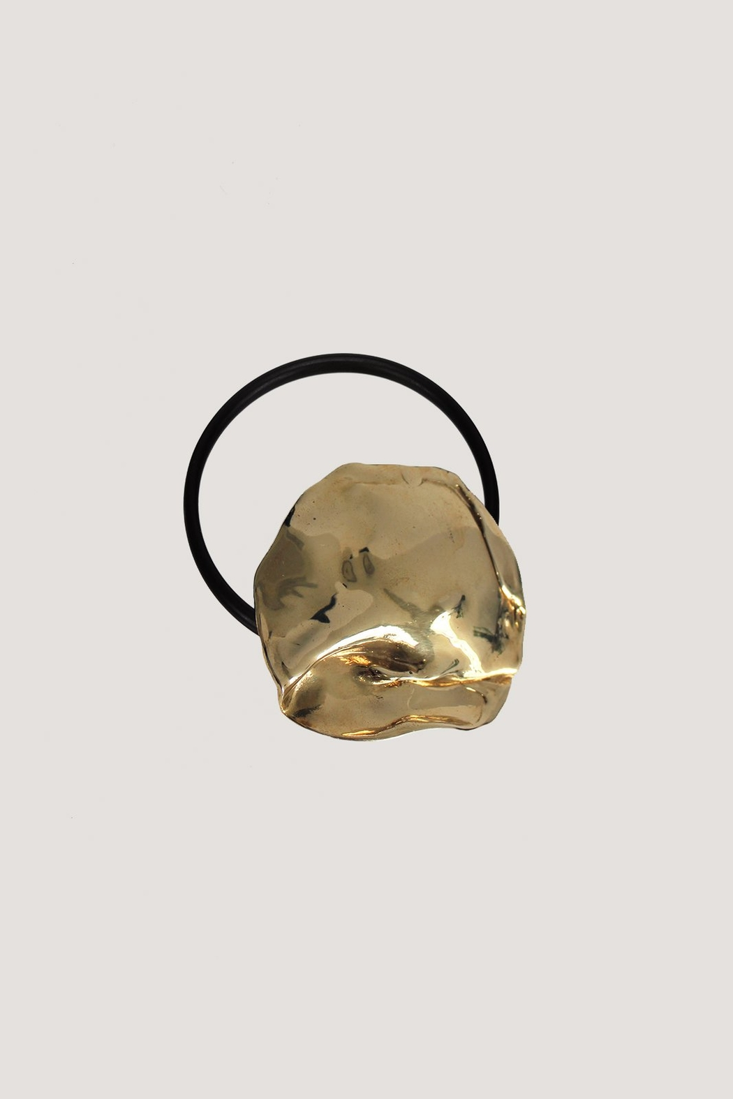LLY ATELIER Molten Metal Hair Tie - Side Cropped Image