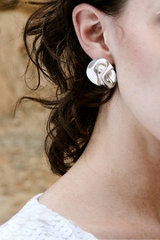 LLY ATELIER Mother of Pearl Earrings - Product Mini Image