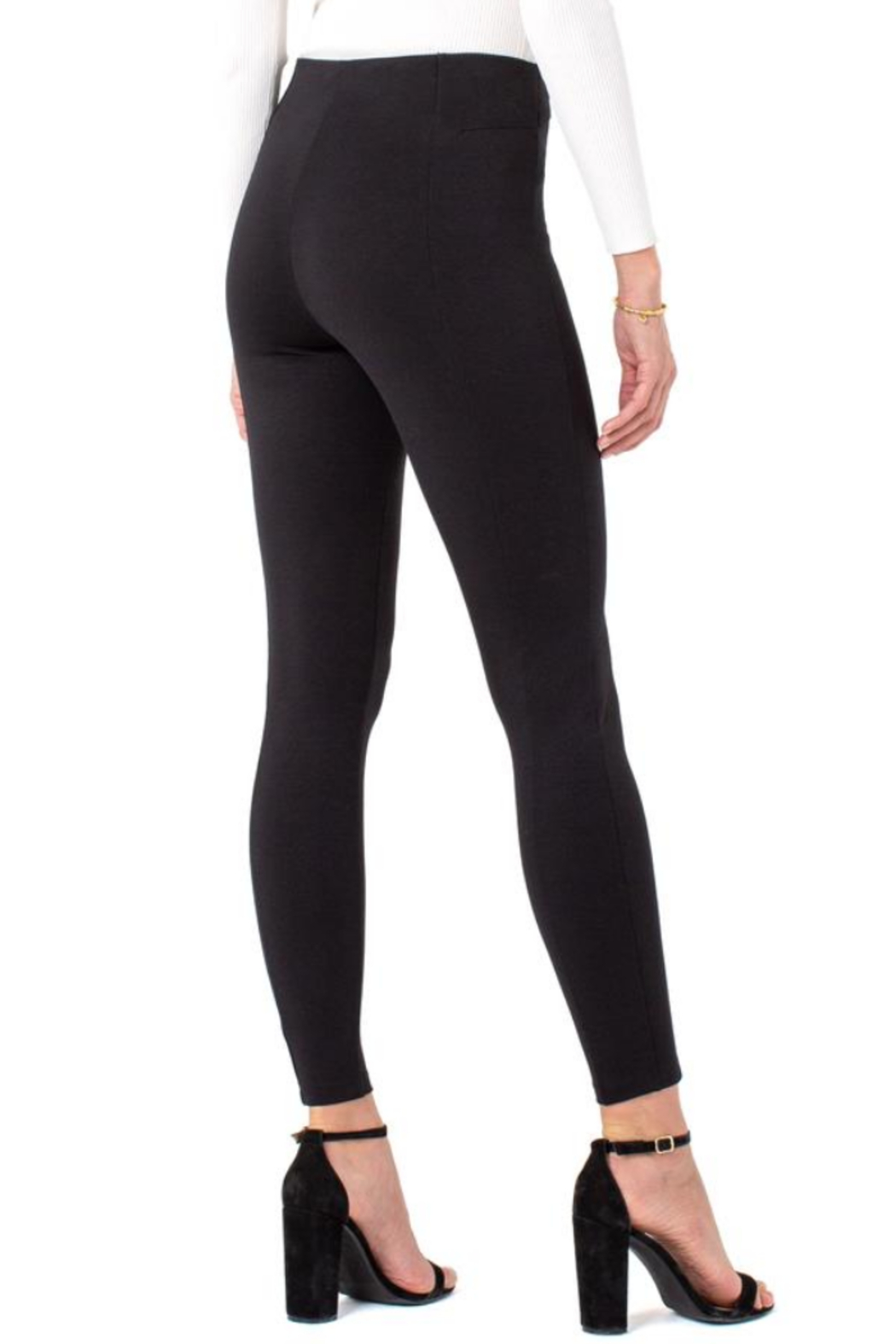 Liverpool  LM2450M42 - Reese Pull-On Legging - Side Cropped Image