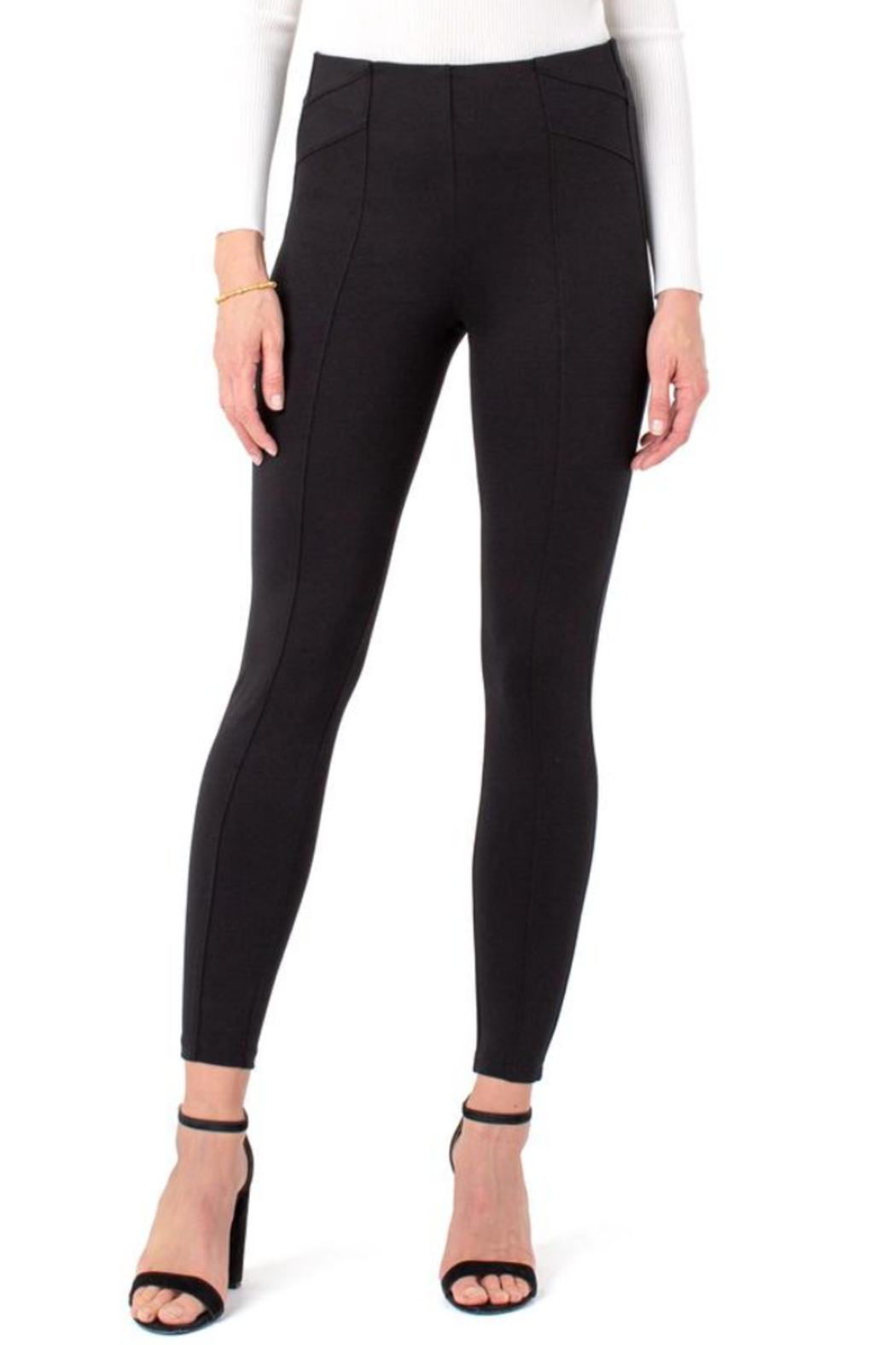 Liverpool  LM2450M42 - Reese Pull-On Legging - Front Cropped Image