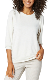 Liverpool  Puffed Sleeve Knit Top - Product Mini Image