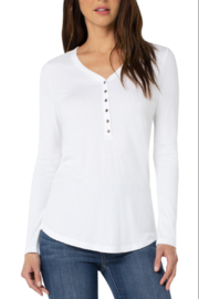 Liverpool  LM8529K40 - Henley Tee - Product Mini Image