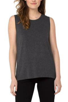 Shoptiques Product: LM8532KN52 -  slvless scoop neck knit tank