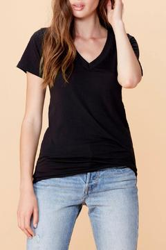 Shoptiques Product: Black V Neck