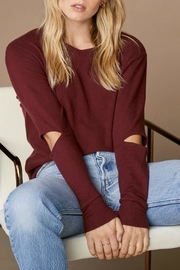 LNA Brushed Odeon Sweater - Front cropped