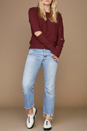 LNA Brushed Odeon Sweater - Front full body