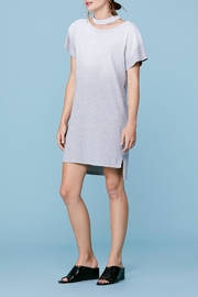 LNA Choker Tee Dress - Front cropped