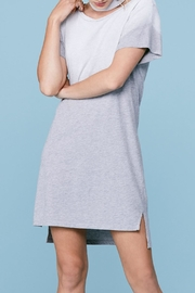 LNA Choker Tee Dress - Side cropped
