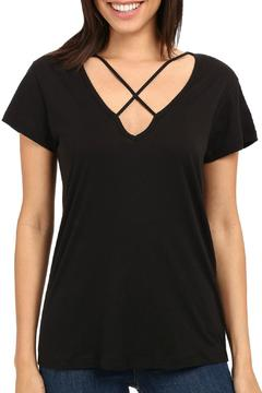Shoptiques Product: Black Short Sleeve Tee