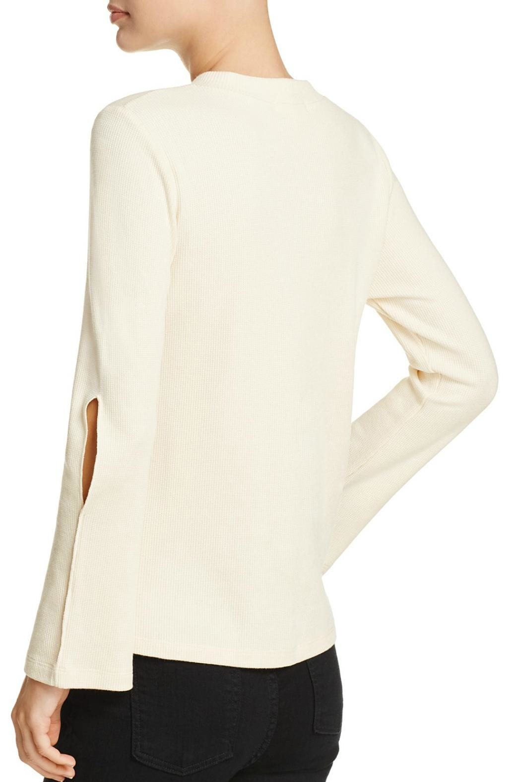 LNA Cutout Bell Sleeve Thermal - Front Full Image
