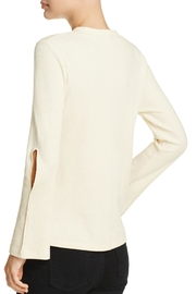 LNA Cutout Bell Sleeve Thermal - Front full body