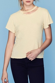 LNA Double Neck Band Tee - Front cropped