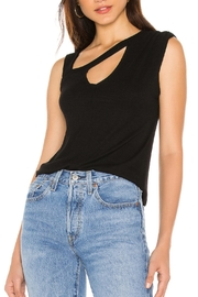 LNA Durante Ribbed Tank - Front cropped