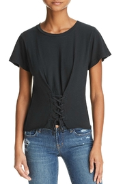 LNA Laced Tee - Front cropped