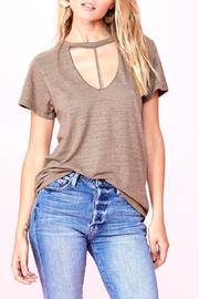 LNA Beige Loose Tee - Product Mini Image