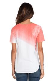 LNA Pink Dipped Tee - Front full body