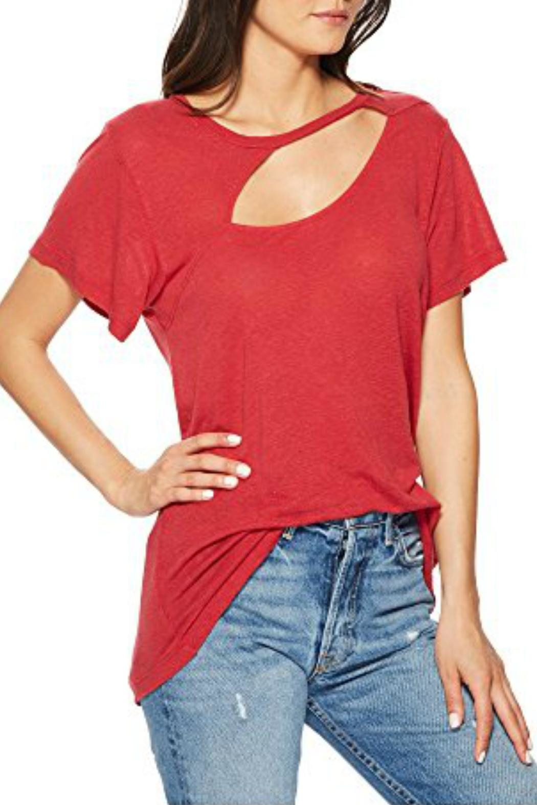 LNA Reprise Tee - Back Cropped Image