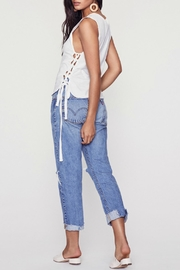 LNA Tied Up Tank - Back cropped