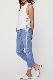 LNA Tied Up Tank - Side cropped